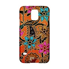 Colorful The Beautiful Of Art Indonesian Batik Pattern Samsung Galaxy S5 Hardshell Case
