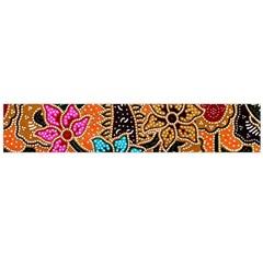 Colorful The Beautiful Of Art Indonesian Batik Pattern Flano Scarf (Large)