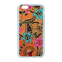 Colorful The Beautiful Of Art Indonesian Batik Pattern Apple Seamless iPhone 6/6S Case (Color)