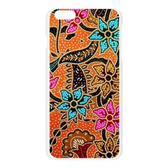 Colorful The Beautiful Of Art Indonesian Batik Pattern Apple Seamless iPhone 6 Plus/6S Plus Case (Transparent)