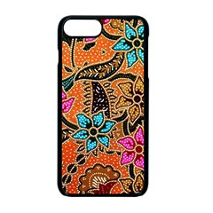 Colorful The Beautiful Of Art Indonesian Batik Pattern Apple Iphone 7 Plus Seamless Case (black)