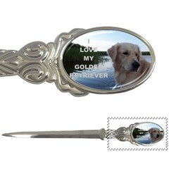 Golden Retriver Love W Pic Letter Openers