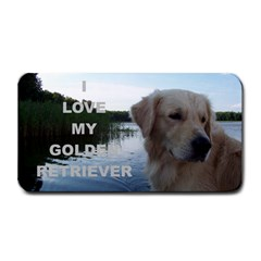 Golden Retriver Love W Pic Medium Bar Mats