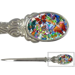 Color Butterfly Texture Letter Openers