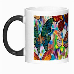 Color Butterfly Texture Morph Mugs