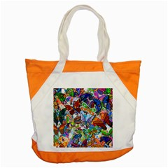 Color Butterfly Texture Accent Tote Bag