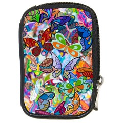 Color Butterfly Texture Compact Camera Cases