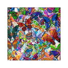 Color Butterfly Texture Acrylic Tangram Puzzle (6  x 6 )