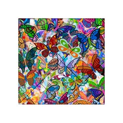 Color Butterfly Texture Acrylic Tangram Puzzle (4  x 4 )