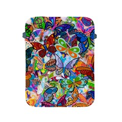 Color Butterfly Texture Apple iPad 2/3/4 Protective Soft Cases