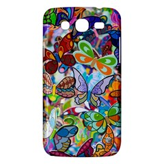 Color Butterfly Texture Samsung Galaxy Mega 5.8 I9152 Hardshell Case
