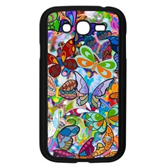 Color Butterfly Texture Samsung Galaxy Grand DUOS I9082 Case (Black)