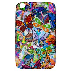 Color Butterfly Texture Samsung Galaxy Tab 3 (8 ) T3100 Hardshell Case