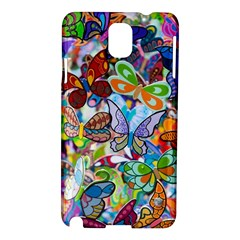 Color Butterfly Texture Samsung Galaxy Note 3 N9005 Hardshell Case