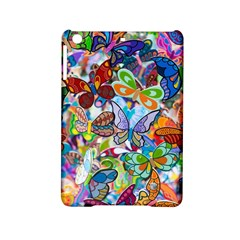 Color Butterfly Texture iPad Mini 2 Hardshell Cases