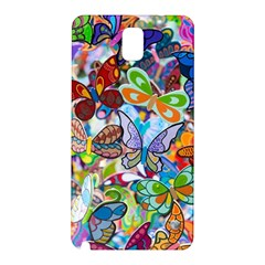 Color Butterfly Texture Samsung Galaxy Note 3 N9005 Hardshell Back Case