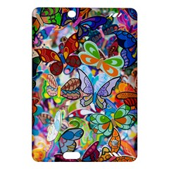 Color Butterfly Texture Amazon Kindle Fire Hd (2013) Hardshell Case