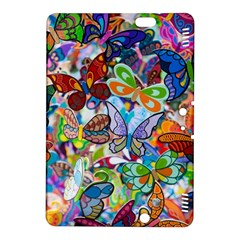 Color Butterfly Texture Kindle Fire HDX 8.9  Hardshell Case