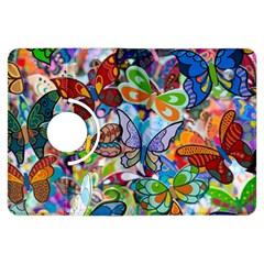 Color Butterfly Texture Kindle Fire HDX Flip 360 Case