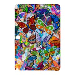 Color Butterfly Texture Samsung Galaxy Tab Pro 10.1 Hardshell Case