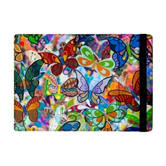 Color Butterfly Texture iPad Mini 2 Flip Cases