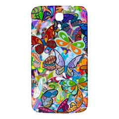 Color Butterfly Texture Samsung Galaxy Mega I9200 Hardshell Back Case