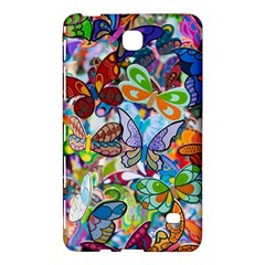 Color Butterfly Texture Samsung Galaxy Tab 4 (7 ) Hardshell Case