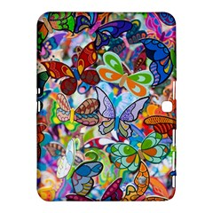 Color Butterfly Texture Samsung Galaxy Tab 4 (10 1 ) Hardshell Case