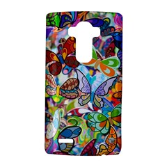 Color Butterfly Texture LG G4 Hardshell Case