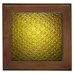 Patterns Gold Textures Framed Tiles