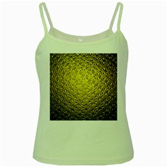 Patterns Gold Textures Green Spaghetti Tank