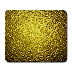Patterns Gold Textures Large Mousepads