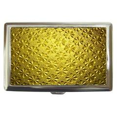 Patterns Gold Textures Cigarette Money Cases