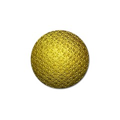 Patterns Gold Textures Golf Ball Marker (4 Pack)