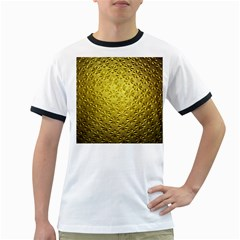 Patterns Gold Textures Ringer T Shirts
