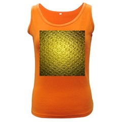 Patterns Gold Textures Women s Dark Tank Top