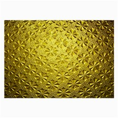Patterns Gold Textures Large Glasses Cloth (2-Side)