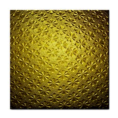 Patterns Gold Textures Face Towel