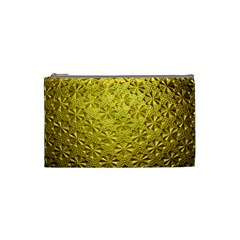 Patterns Gold Textures Cosmetic Bag (Small)