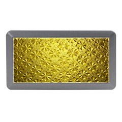Patterns Gold Textures Memory Card Reader (Mini)