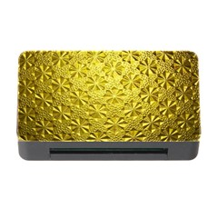 Patterns Gold Textures Memory Card Reader with CF