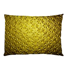 Patterns Gold Textures Pillow Case (two Sides)