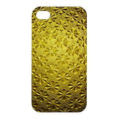 Patterns Gold Textures Apple iPhone 4/4S Hardshell Case