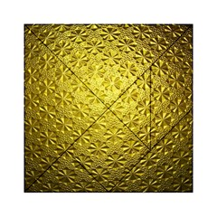 Patterns Gold Textures Acrylic Tangram Puzzle (6  x 6 )