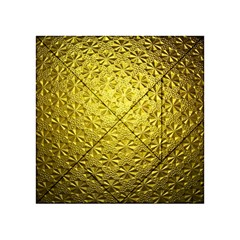 Patterns Gold Textures Acrylic Tangram Puzzle (4  x 4 )