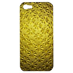 Patterns Gold Textures Apple iPhone 5 Hardshell Case