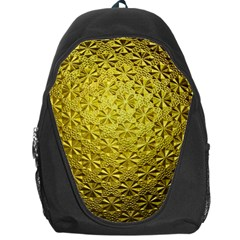 Patterns Gold Textures Backpack Bag