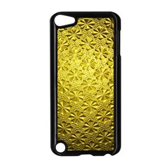 Patterns Gold Textures Apple Ipod Touch 5 Case (black)