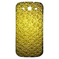 Patterns Gold Textures Samsung Galaxy S3 S III Classic Hardshell Back Case