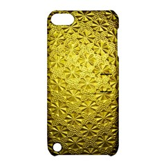 Patterns Gold Textures Apple iPod Touch 5 Hardshell Case with Stand